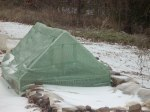 Grow Tent in the Snow
